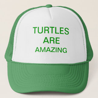 turtles are amazing trucker hat