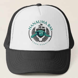 Turtles at Hanauma Bay Oahu Hawaii Trucker Hat