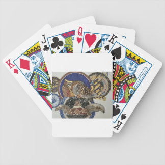 Turtles at midnight bicycle playing cards