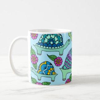 Turtles Blue Coffee Mug