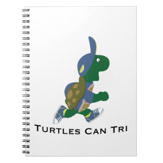 Turtles Can Tri Notebook