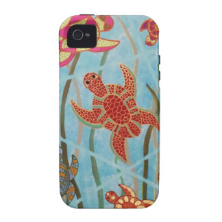 Turtles Galore Vibe iPhone 4 Case