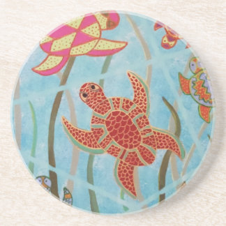 Turtles Galore Coaster