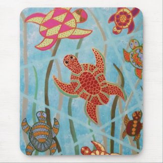 Turtles Galore Mouse Pads