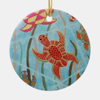 Turtles Galore Ornament