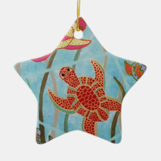 Turtles Galore Christmas Ornament