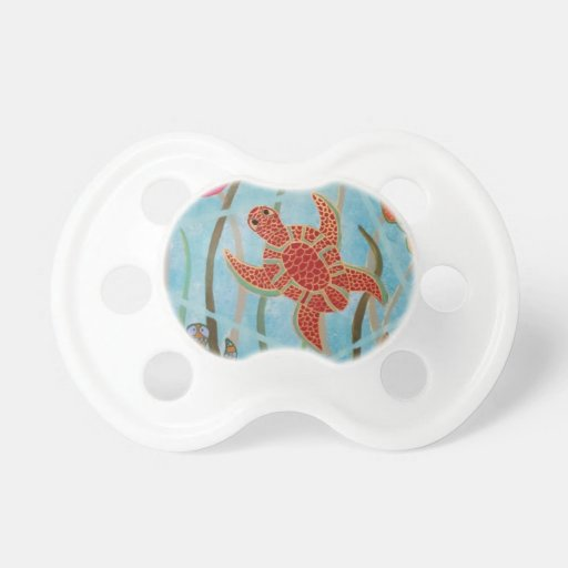 Turtles Galore Pacifiers