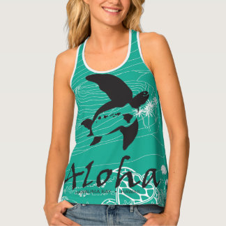 Turtles in Hawaii Tank Top