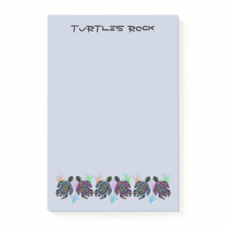 Turtles Rock Post-it® Notes