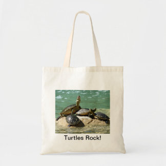 Turtles Rock! Tote Bag