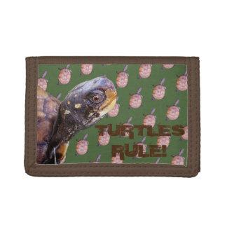 Turtles Rule! Tri-fold Wallet
