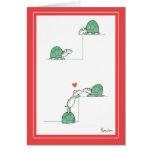 TURTLES Valentines by Boynton Greeting Card