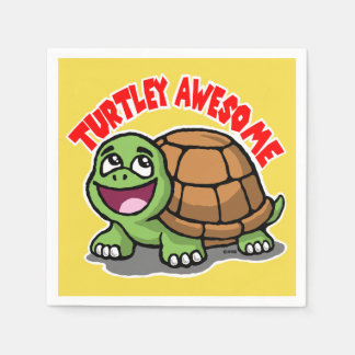 Turtley Awesome Napkin