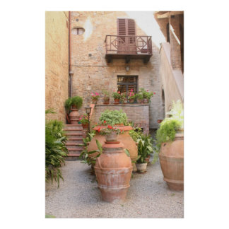 Tuscan Alley Poster
