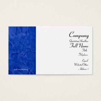 Tuscan Blue Business Cards