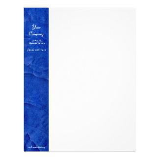 Tuscan Blue Letterhead Letterhead