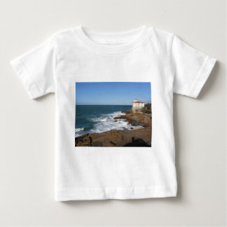Tuscan coast in winter with Boccale castle Baby T-Shirt