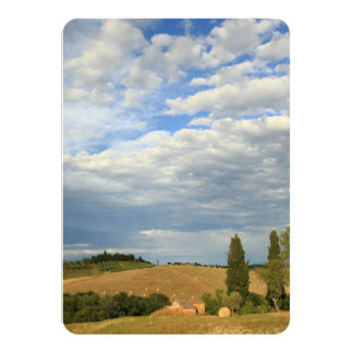 Tuscan countryside Tuscany, Central Italy Card
