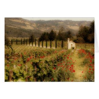 Tuscan Dream Card