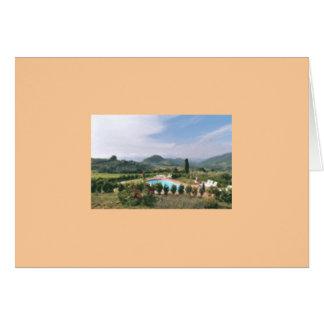 Tuscan Notecard