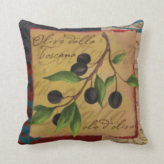 Tuscan Olives Pillow