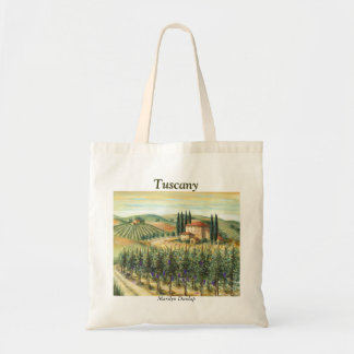Tuscan Vineyard and Villa Tote Bag