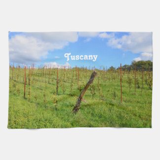 Tuscan Vineyard Kitchen Towel