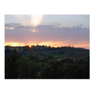 TuscanSunset Postcard