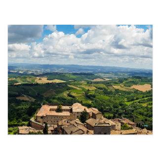 Tuscany 5 postcard