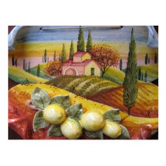 Tuscany Farm Postcard