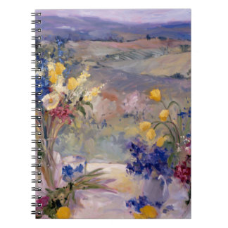 Tuscany Floral Notebook