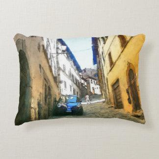 Tuscany. Italy. Cortona. Decorative Pillow