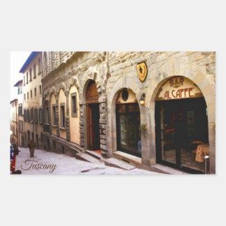 Tuscany. Italy. Cortona. Sticker