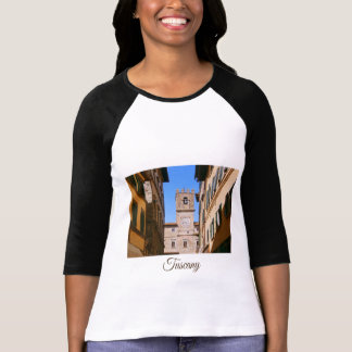 Tuscany. Italy. Cortona tower. T-Shirt