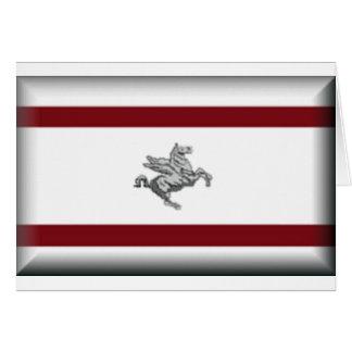 Tuscany (Italy) Flag Card