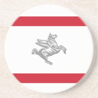 Tuscany, Italy flag Coaster