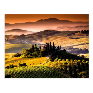 Tuscany, Italy landscape photograph Postcard