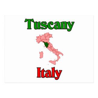 Tuscany Italy Postcard