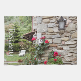 Tuscany, Italy. Rustic house. Kitchen Towel