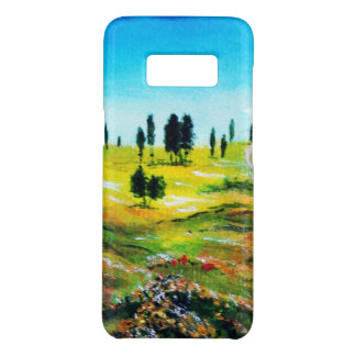 TUSCANY LANDSCAPE WITH CPYPRESS TREES AND POPPIES Case-Mate SAMSUNG GALAXY S8 CASE