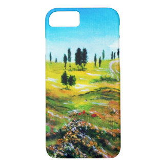 TUSCANY LANDSCAPE WITH POPPIES iPhone 7 CASE