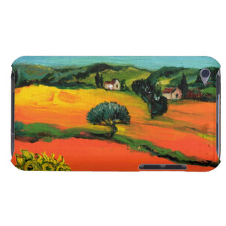 TUSCANY LANDSCAPE WITH SUNFLOWERS iPod TOUCH COVER