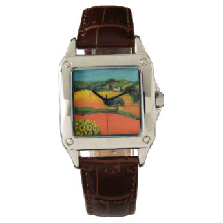 TUSCANY LANDSCAPE WITH SUNFLOWERS WATCH
