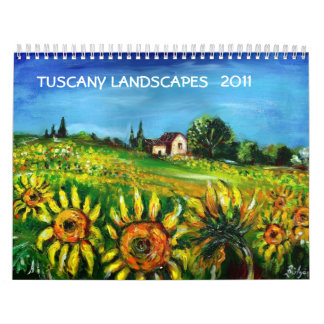TUSCANY LANDSCAPES COLLECTION 2017 CALENDARS