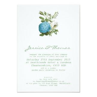 Tuscany Meditteranean Style Wedding Invitation