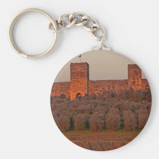 Tuscany - Monteriggioni Keychain