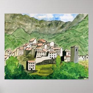 """Tuscany"" Poster"