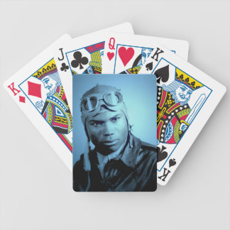 Tuskegee Airman Bicycle Playing Cards