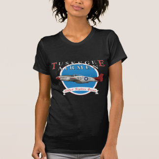 Tuskegee Airman P-51D Red Tail Shirt
