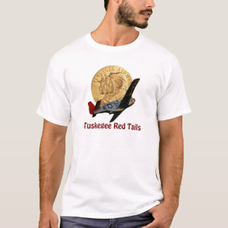 Tuskegee Red Tail Metal of Honor T-Shirt